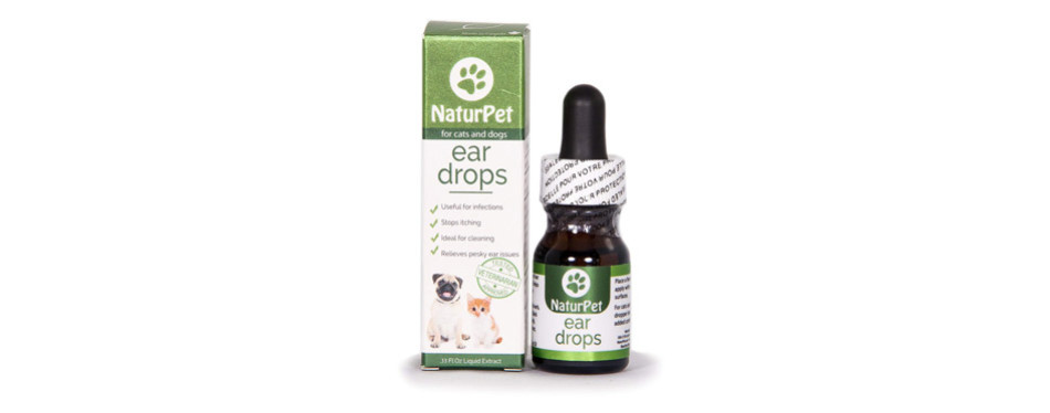 NaturPet Ear Drops for Cats