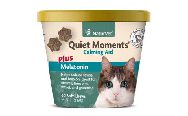 NaturVet Quiet Moments Calming Aid for Cats
