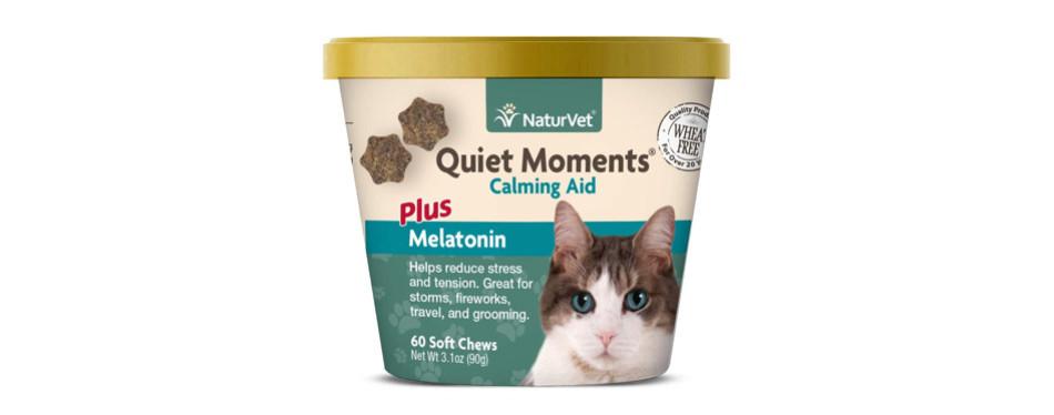 NaturVet Quiet Moments Calming Aid for Cats