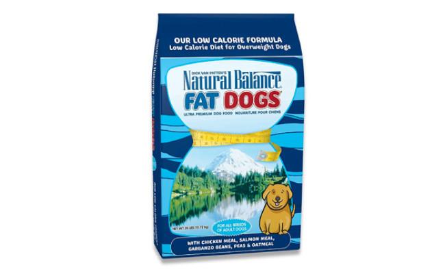 Natural Balance Fat Dogs Low Calorie Dog Food