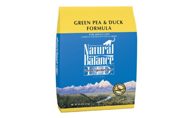 Natural Balance Limited Ingredient Diets Green Dry Cat Food