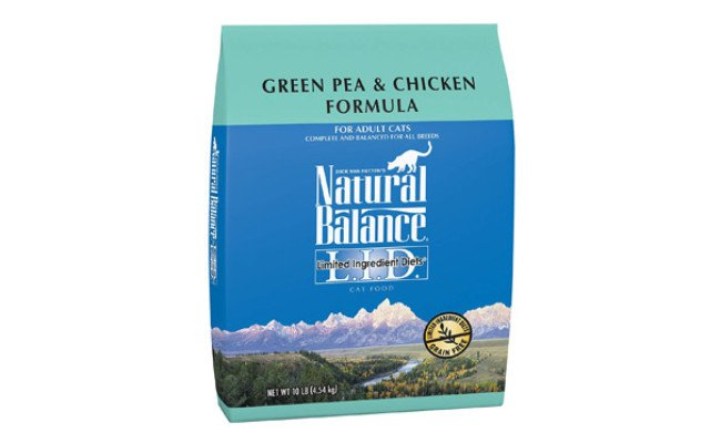 Natural Balance Ingredient Dry Cat Food