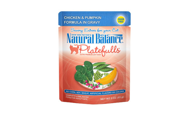 Natural Balance Platefulls Wet Cat Food in Gravy
