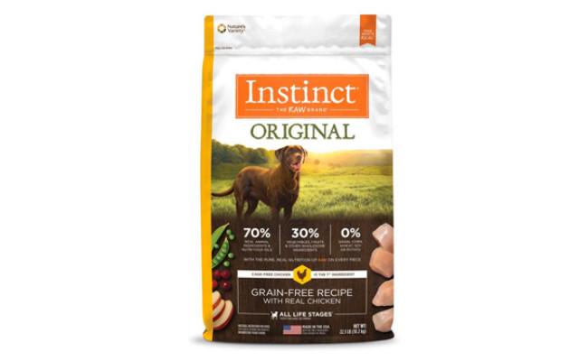 Nature's Variety Instinct Original Grain Free Dog Food