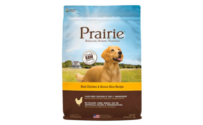Nature's Variety Prairie Natural Dry Dog Food