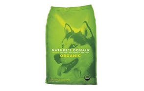 Nature's Domain USDA Organic Chicken & Pea Formula Dry Dog Food