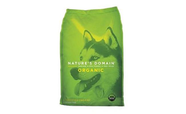 Nature's Domain USDA Organic Chicken & Pea Formula Dry Dog Food