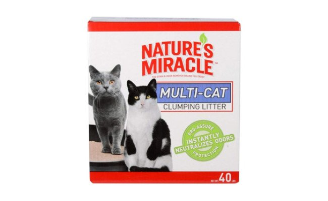 Nature's Miracle Dust Free Cat Litter