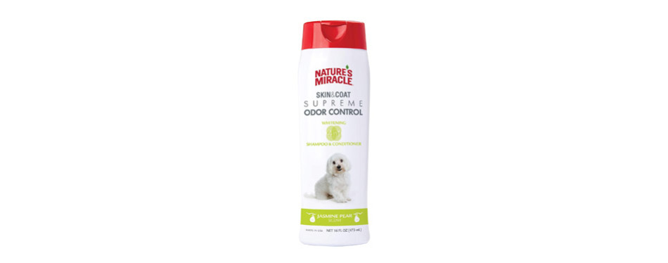 Nature's Miracle Supreme Whitening Odor Control Shampoo