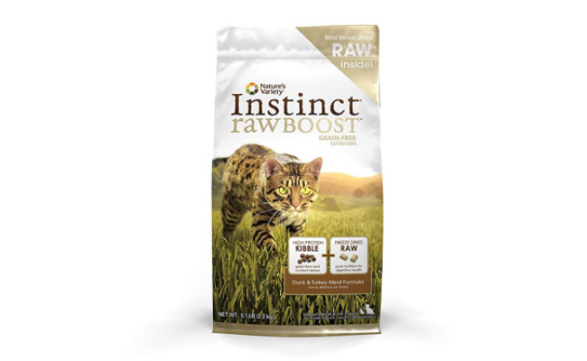 Nature's Variety Boost Grain Free Dry Cat Food