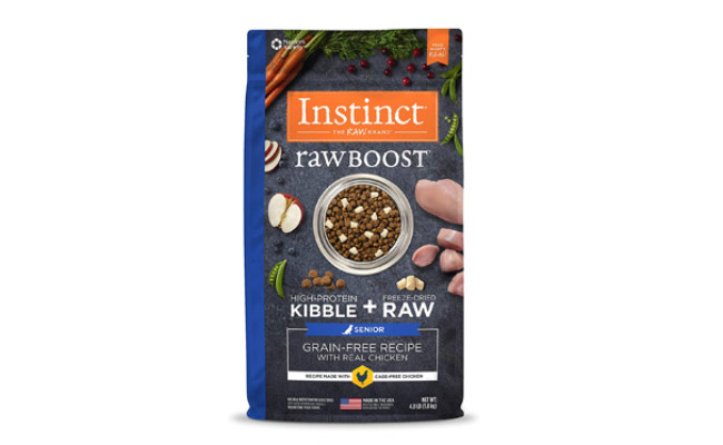 Nature's Variety Instinct Raw Boost Senior Dog Food