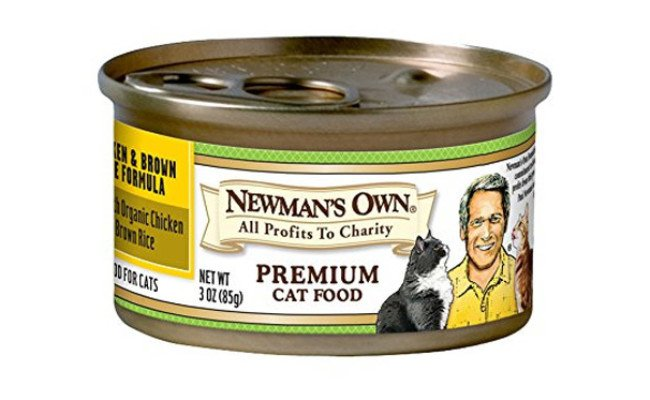 Newman'S Own Premium Canned Formulas For Cats