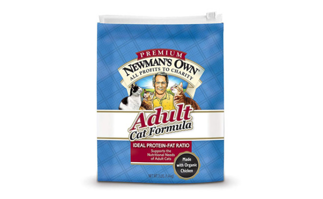 Newman'S Own Premium Organic Cat Food