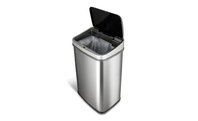 Ninestars Automatic Dog Proof Trash Can