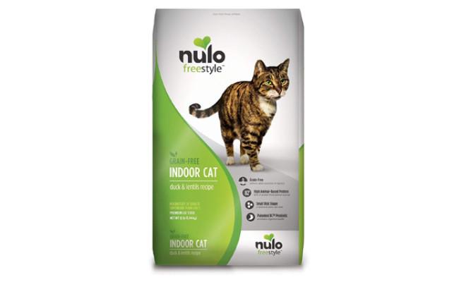 Nulo Grain Free Dry Indoor or Adult Trim Cat Food