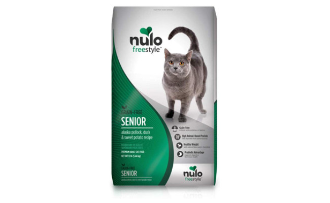 Nulo Senior Freestyle Grain Free Dry Cat Food