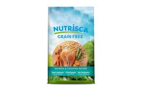 Nutrisca Dog Food, Salmon and Chickpea