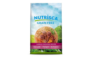 Nutrisca Lamb and Chick Pea Food