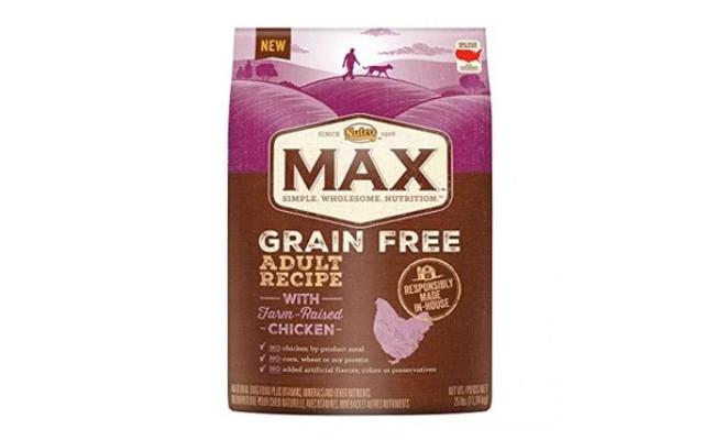 Nutro Max Grain Free Natural Dog Food for Flatulence