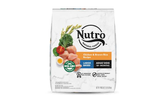 Nutro Natural Choice Large Breed Adult & Senior Dry Dog Food