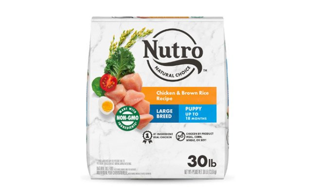 Nutro Natural Choice Large Breed Puppy Chicken & Brown Rice Recipe Dry Dog Food