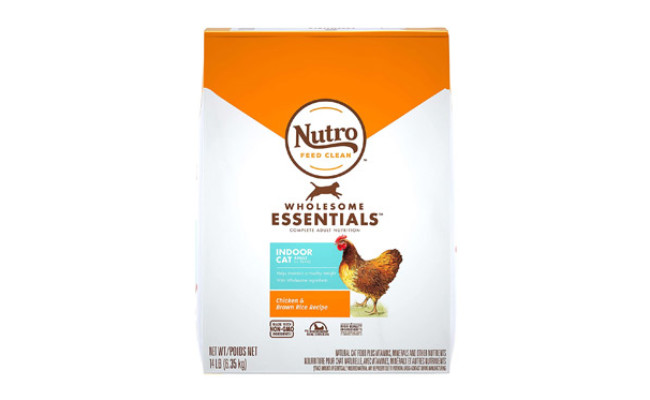 Nutro Wholesome Essentials Indoor and Sensitive Digestion Cat Food