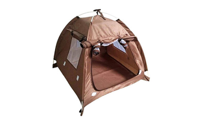 OLizee Breathable Washable Pet Puppy Kennel Dog Tent