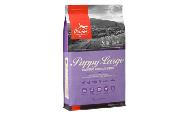 ORIJEN Puppy Large High-Protein Dry Dog Food