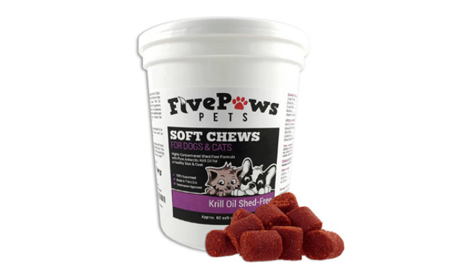 Omega 3 Chews Krill Oil Chews for Dogs
