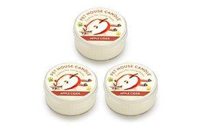 One Fur All Pet House Mini Candle Set