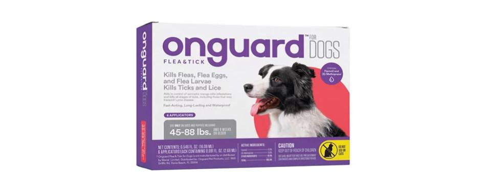 Onguard Flea & Tick Treatment for Dogs