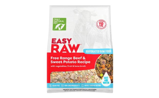 Only Natural Pet EasyRaw Dehydrated Raw Dog Food