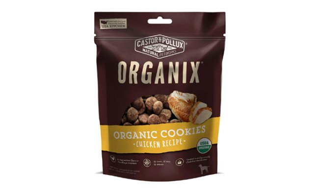 Organix Chicken Flavored Dog Cookies