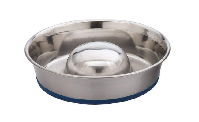 Ourpets Durapet Slow Feed Dog Bowl
