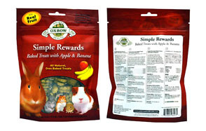 Oxbow Simple Rewards Treats for Hamsters