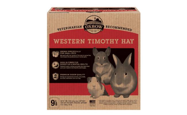 Oxbow Western Timothy Hay Small Animal Food