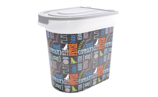 Paw Prints Pet Food Storage-Container