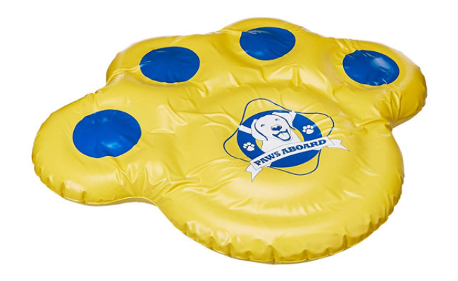 Paws Aboard Resistant Vinyl Dog Float