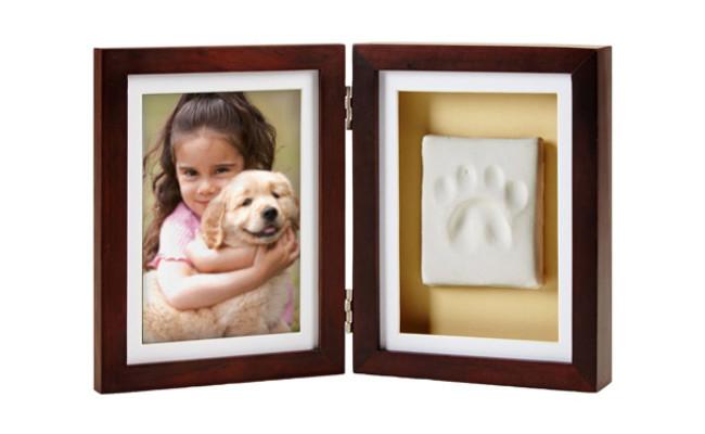Pearhead Pawprints Cat Desk Frame