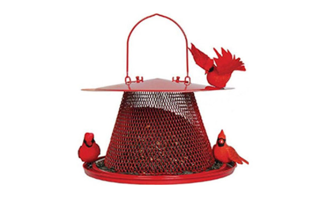 Perky Pet Red Cardinal Bird Feeder