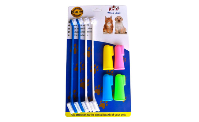 Pet Dog Soft Toothbrush by RosyLife