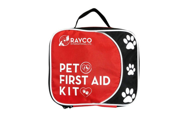 Pet First Aid Kit with LED Safety Collar