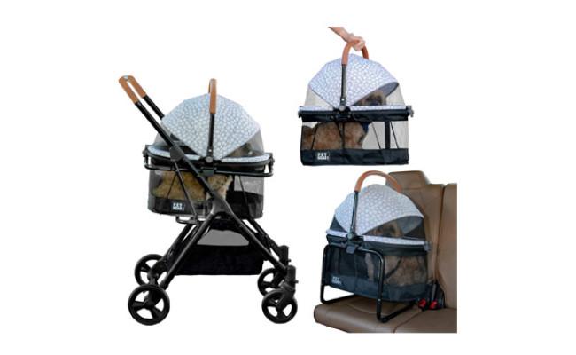 Pet Gear 3-in-1 Travel Stroller