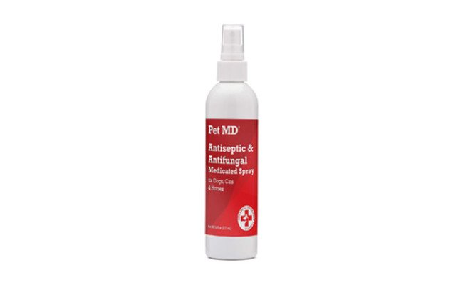 Pet MD Antiseptic and Antifungal Medicated Spray for Dogs