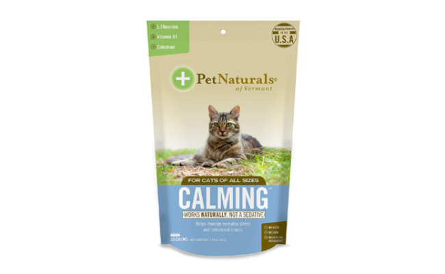 Pet Naturals Calming Behavioral Soft Chews for Cats