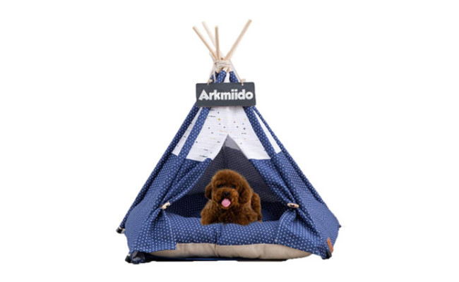 Pet Teepee Dog & Cat Bed