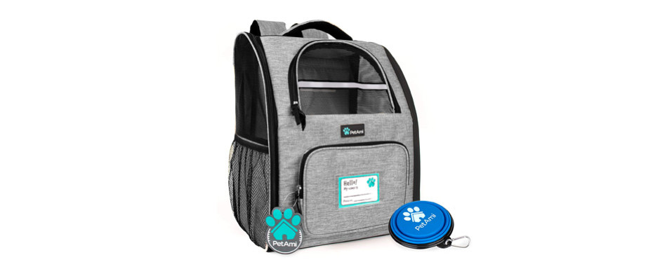 PetAmi Deluxe Dog Carrier Backpack