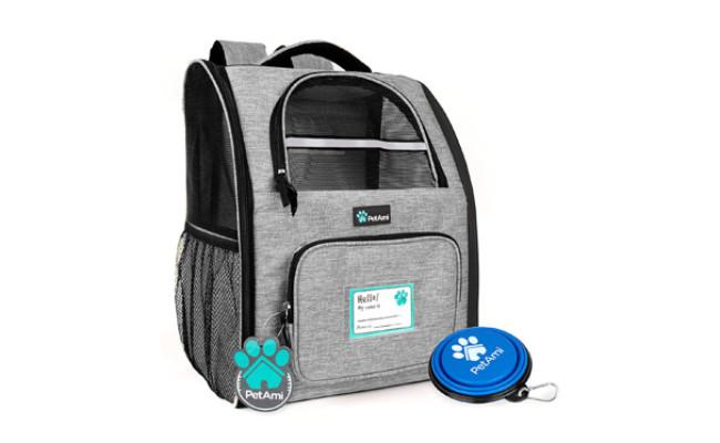PetAmi Deluxe Pet Carrier Backpack