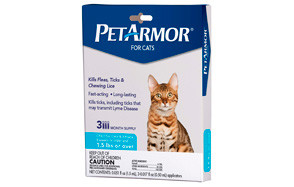 PetArmor Flea and Tick Squeeze On Cats and Kittens by FidoPharm, Inc.