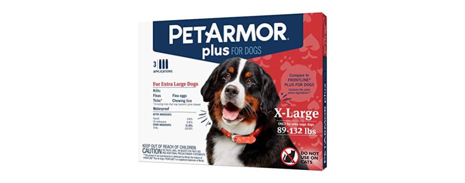 PetArmor Plus Flea & Tick Squeeze-On Treatment for Dogs
